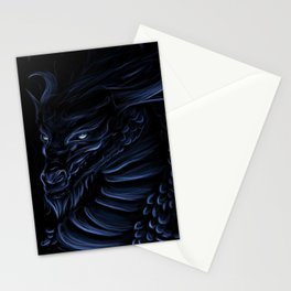 Blue Shadow Stationery Cards
