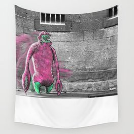 Unseen Monsters of Melbourne - Moose Jaw Mooshabong Wall Tapestry