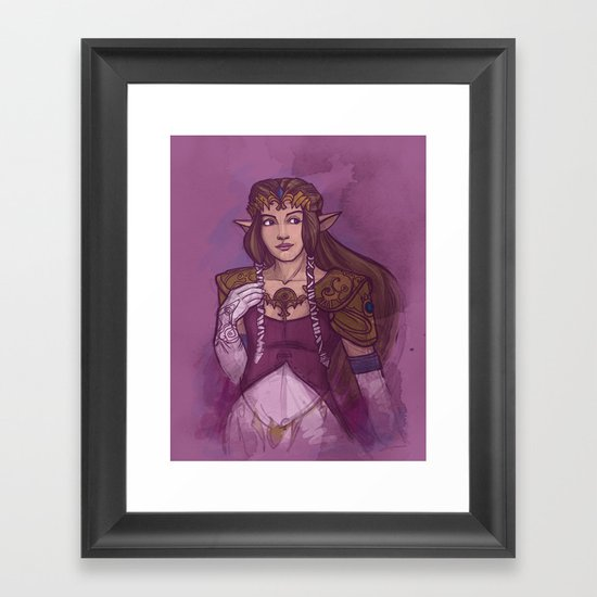 Zelda Framed Art Print
