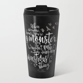 Six of Crows - Monster - Black Travel Mug