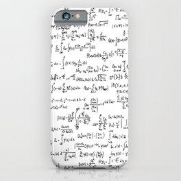 Math Equations iPhone Case