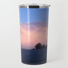 Pink clouds Travel Mug
