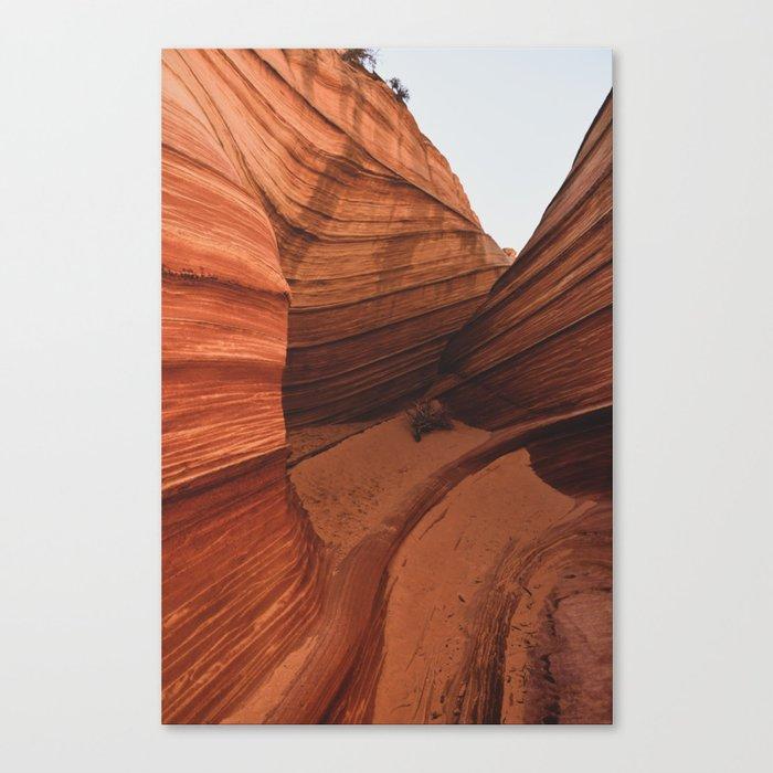 The Wave Enclave Canvas Print