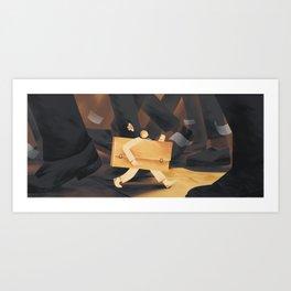 Small artist Art Print