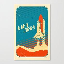 Lift Off! Canvas Print