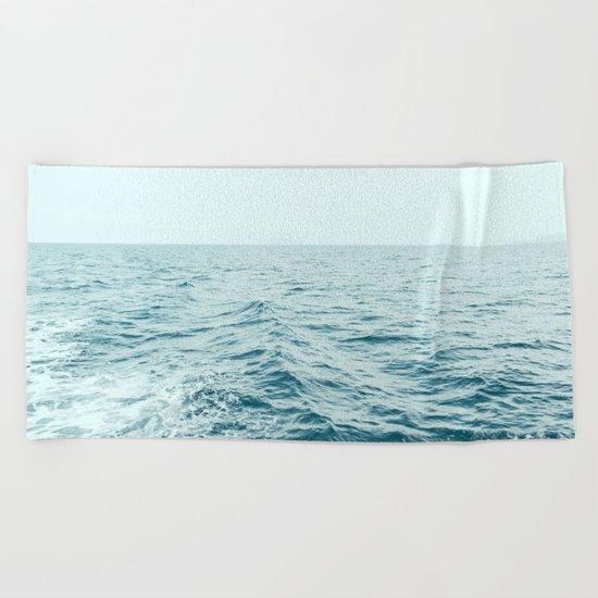 Depth Over Distance Beach Towel
