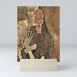 12,000pixel-500dpi - Egon Schiele - Self-Seer II, Death and Man - Digital Remastered Edition Mini Art Print