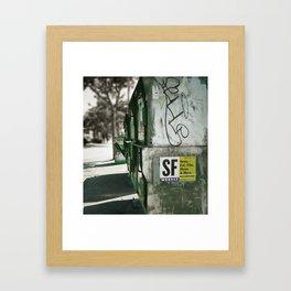 San Francisco Weekly Framed Art Print