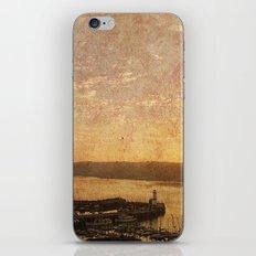 Calm Harbour iPhone & iPod Skin