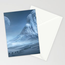 Travel On Fantasy Planet Stationery Cards
