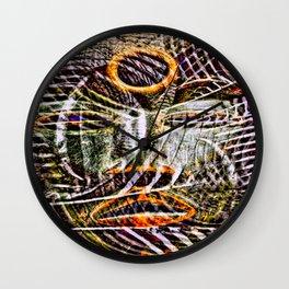 Cabsink16DesignerPatternRWP Wall Clock
