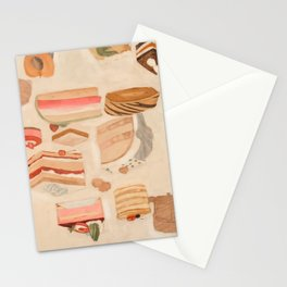 Sweet Cakes Stationery Cards