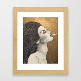 LDR Ciggarette Framed Art Print