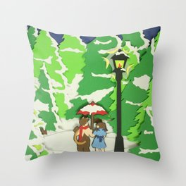 The Land of Spare Oom Throw Pillow