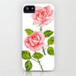Romantic Roses iPhone Case