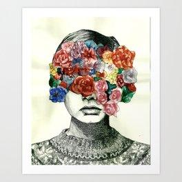 Twig & Flora Art Print