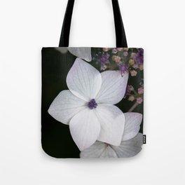 Purple and Blue Hydrangea Tote Bag