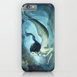 mermaid treasure iPhone Case
