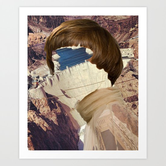 Haircut 7 Art Print