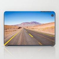 chile iPad Cases featuring Route 27, Atacama - Chile by klausbalzano
