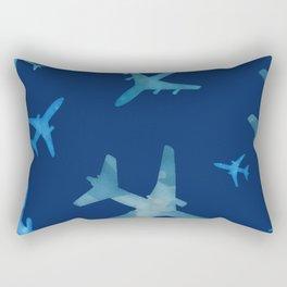 Airplane mix Rectangular Pillow