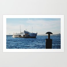 Ferries of Istanbul #1 Art Print