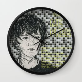 (Movie - Set Me Free) - yks by ofs珊 Wall Clock