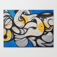 colombia Canvas Prints featuring Colombia, #1 by ohrutown