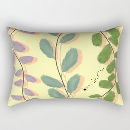 Different Kinds of Leaves Rectangular Pillow