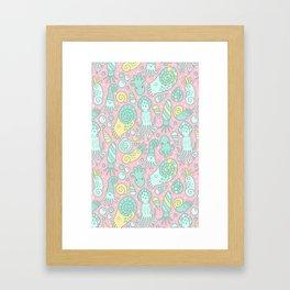 Cute Cephalopods Framed Art Print