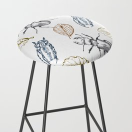 Bugs and leaves Bar Stool