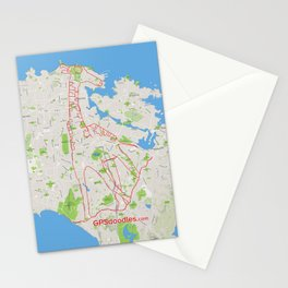 It's a zoo out there Stationery Cards
