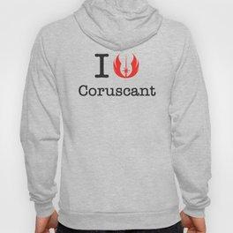 I love Coruscant Hoody
