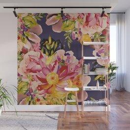 Cabana Blooms Wall Mural