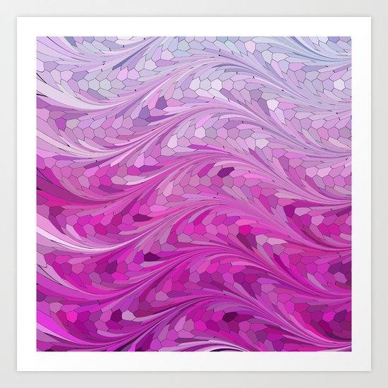 Grape Sea Art Print