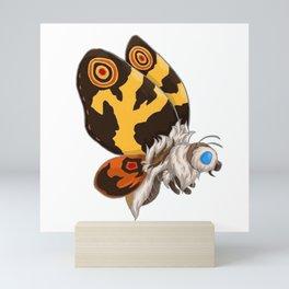 Mothra Godzilla Mini Art Print