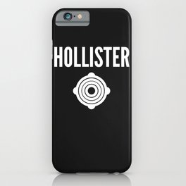 Funny Brand Name Ostomy iPhone Case