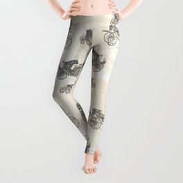 Homeless are invisible people  Leggings
