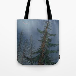 Forest Moonlight Tote Bag