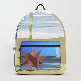 Gymea on Blue Backpack