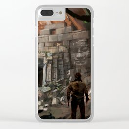 Lost Temple Clear iPhone Case
