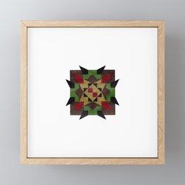 untitled star Framed Mini Art Print