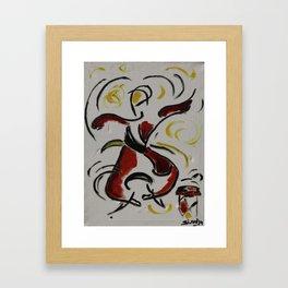 Happy People  Framed Art Print