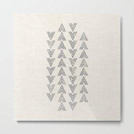 MOD ARROW Metal Print