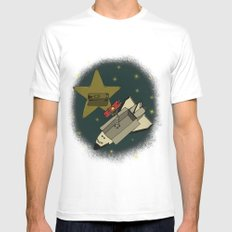 Star in the service Mens Fitted Tee White MEDIUM