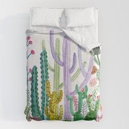 Succulent Happy Garden Comforters