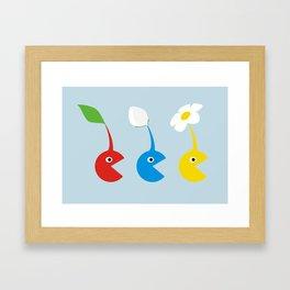 Pac-Min Framed Art Print