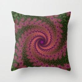 Fractal Galaxy Throw Pillow