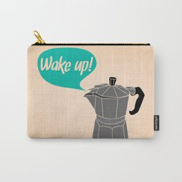 Wake Up! Carry-All Pouch