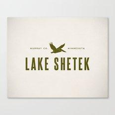 Lake Shetek Canvas Print
